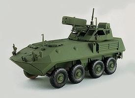 Trident US Marine Corps Air Defense Version LAV-AD HO Scale Model Roadway Vehicle #81018