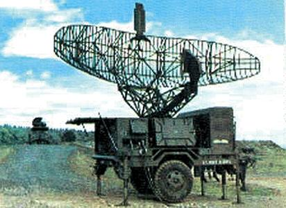 Trident Miniatures Hawk MIM-23B AN/MPQ-35 Target Acquisition Radar -- HO Scale Model Roadway Vehicle -- #87079