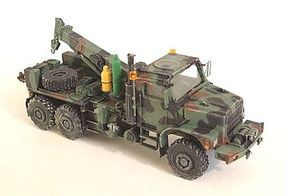 Trident Medium Trucks MTVR Mk26 6x6 Wrecker Resin Kit HO Scale Model Roadway Vehicle #87098