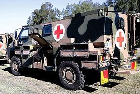 Trident Bushmaster Ambulance Kit Resin & Metal HO Scale Model Roadway Vehicle #87156