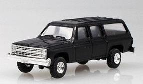 Trident Trucks Chevrolet Suburban Black HO Scale Model Roadway Vehicle #900143