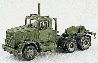 Trident Miniatures M915 3-Axle Wrecker w/Towing Gear -- HO Scale Model Roadway Vehicle -- #90053