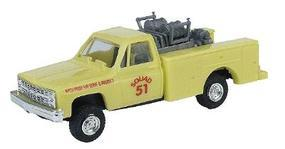 Trident Emergency CFE Mini-Pumper SCAT (Lime Green) HO Scale Model Railroad Vehicle #900622