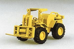 Trident Construction Equipment Fork Lift HO Scale Model Railroad Vehicle #90094