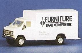 Trident 1-Ton Delivery Van Chevrolet Furniture & More HO Scale Model Railroad Vehicle #90113