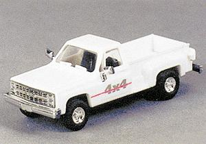 Trident Miniatures Trucks Chevrolet Pick-Up Stepside 4x4 -- HO Scale Model Railroad Vehicle -- #90115