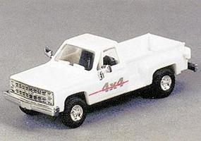 Trident Trucks Chevrolet Pick-Up Stepside 4x4 HO Scale Model Railroad Vehicle #90115