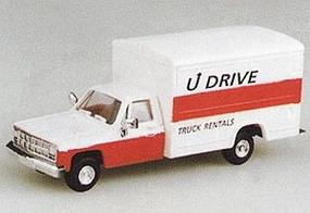 Trident 1 Ton Delivery Van w/Pick-up Cab U Drive Rentals HO Scale Model Railroad Vehicle #90121