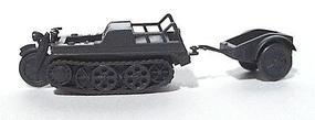 Trident NSU HK-101 Half-Track Motorcycle Gray HO Scale Model Railroad Vehicle #901241