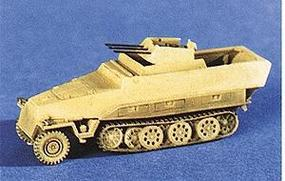Trident 251/21 Self-Propelled Anti-Aircraft Gun HO Scale Model Railroad Vehicle #90129