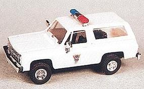 Trident Chevrolet Blazer Colorado State Patrol HO Scale Model Railroad Vehicle #90136