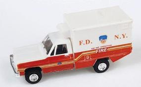 Trident Chevrolet FDNY Hazardous Materials Operations Unit HO Scale Model Railroad Vehicle #90139