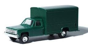 Trident Chevrolet Pickup Cab w/Special Body Green HO Scale Model Railroad Vehicle #901544