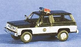 Trident Blazer North Carolina Highway Patrol Black & White HO Scale Model Railroad Vehicle #90172