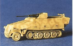 Trident 251/17 Self-Propelled Anti-Aircraft Gun HO Scale Model Railroad Vehicle #90189