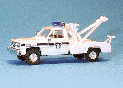 Trident Miniatures Chevrolet Tow Truck Washington Metro Police -- HO Scale Model Railroad Vehicle -- #90237