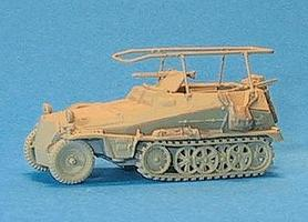 Trident 250/3 Armored Radio/Command Unit Early Model HO Scale Model Railroad Vehicle #90249