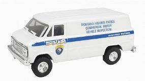 Trident Montana Patrol Commercial Motor Vehicle Inspection Unit HO Scale Model Railroad Vehicle #90258