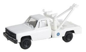 Trident Chevrolet Tow Truck US Border Patrol White & Blue HO Scale Model Railroad Vehicle #90262
