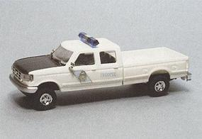 Trident Ford Crewcab Pick Up Alaska State Trooper HO Scale Model Roadway Vehicle #90274