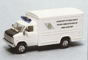 Trident Chevrolet Box Van Alaska Dept. of Public Safety HO Scale Model Roadway Vehicle #90275