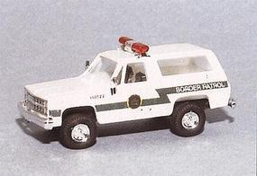 Trident Chevrolet Blazer US Border Patrol HO Scale Model Roadway Vehicle #90295