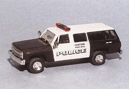 Trident Miniatures Chevrolet Suburban New York Canine Unit -- HO Scale Model Roadway Vehicle -- #90302