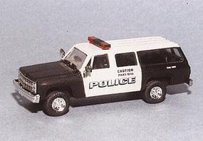 Trident Chevrolet Suburban New York Canine Unit HO Scale Model Roadway Vehicle #90302
