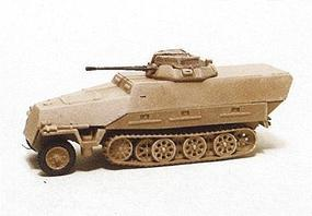 Trident 251/23 Type D Self-Propelled Gun (Plastic) HO Scale Model Roadway Vehicle #90304
