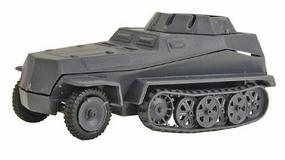 250/9 Self-Propelled Gun (Gray) HO Scale Model Roadway Vehicle #90306g