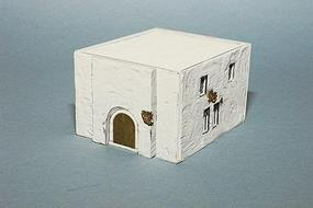 Trident Military Resin Structure Castings Arabian House I HO Scale Model Railroad Building #99029