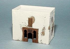 Trident Military Resin Structure Castings Arabian House II HO Scale Model Railroad Building #99030