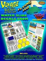 TSDS Flying Sub Decal Set for MOE Science Fiction Plastic Model Decal 1/32 Scale #105