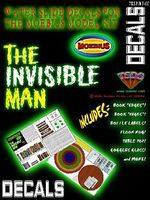 TSDS Invisible Man Decal Set for MOE Science Fiction Plastic Model Decal 1/8 Scale #107