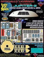 TSDS LiS- Jupiter 2 Spaceship Decal & Vinyl Set for MOE Science Fiction Model Decal 1/35 #116