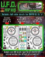 TSDS Alpha Centauri UFO Decal Set for PGH Science Fiction Plastic Model Decal 1/32 Scale #120
