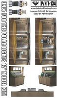 TSDS LiS Jupiter 2 Spaceship 12 Interior Diorama Film for PLL Science Fiction Decal 1/60 #134