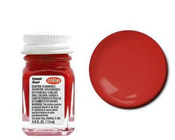 Testors (bulk of 6) Pla Enamel S.L. Red 1/4oz