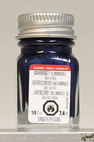 Testors Artic Blue Metallic 1/4 oz Hobby and Model Enamel Paint #1109tt