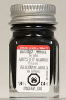 Testors Semi-Gloss Black 1/4 oz Hobby and Model Enamel Paint #1139tt