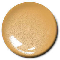 Testors Gold 1/4 oz Carded Hobby and Model Enamel Paint #1144c2