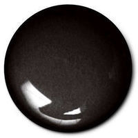 Testors Black 1/4 oz Hobby and Model Enamel Paint #1147tt