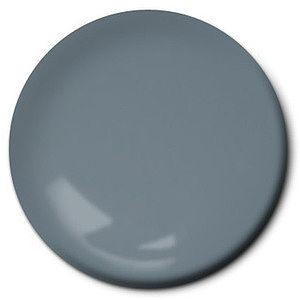 Testors Flat Gray 1/4 oz Hobby and Model Enamel Paint #1163tt