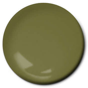 Testors Flat Olive 1/4 oz Hobby and Model Enamel Paint #1165tt
