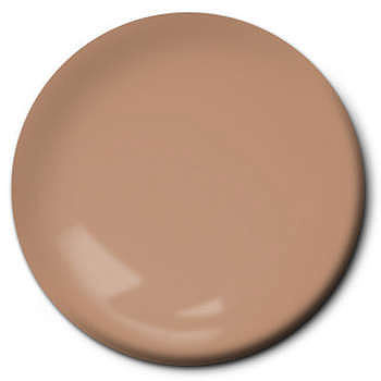 Testors Flat Tan 1/4 oz Hobby and Model Enamel Paint #1167tt