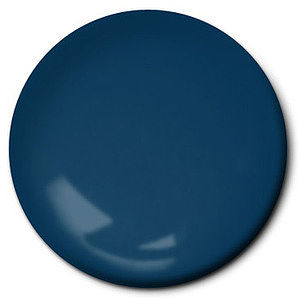Testors Flat Sea Blue 1/4 oz Hobby and Model Enamel Paint #1172tt