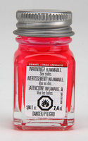 Testors Pink Fluorescent 1/4 oz Hobby and Model Enamel Paint #1178tt
