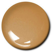 Testors Flat Brass 1/4 oz Hobby and Model Enamel Paint #1182tt