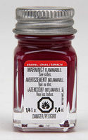 Testors Maroon 1/4 oz Hobby and Model Enamel Paint #1186tt