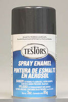 Testors Spray Graphite Gray Metallic Enamel 3 oz Hobby and Model Enamel Paint #1253t